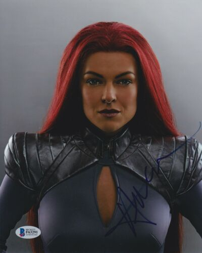 SERINDA SWAN SIGNED 8X10 PHOTO INHUMANS BECKETT BAS AUTOGRAPH AUTO COA A