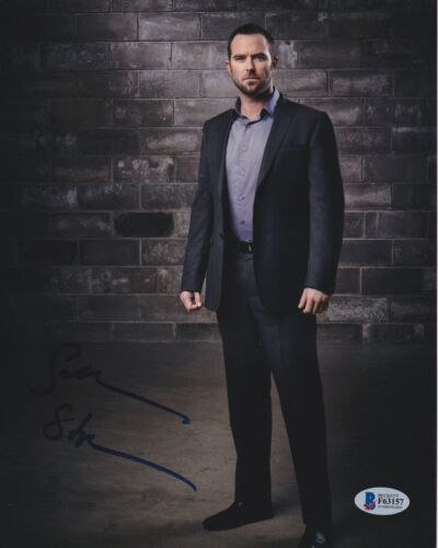 SULLIVAN STAPLETON SIGNED 8X10 PHOTO BLINDSPOT BECKETT BAS AUTOGRAPH AUTO COA A