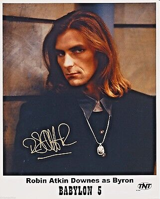 Robin Atkin Downes as Byron in BABYLON 5 8x10 AUTOGRAPHED