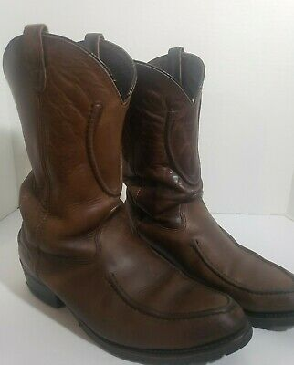 Mens Double H Work Western Size 13 preowned