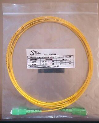 Cable Fibra optica,fibra óptica FTTH. conector de fibra óptica. SC/APC SC/APC 3M