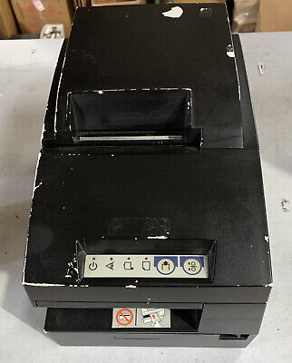 Epson Tm-u675 M146b Pos Receipt Printer Gray