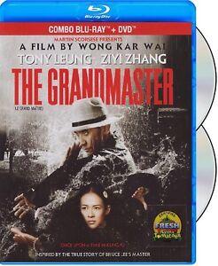 THE GRANDMASTER (WONG KAR WAI) - REGION A/1 (USA/ CA) *NEW BLU-RAY + DVD*