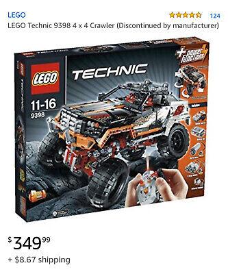 Lego Technic 4x4 crawler Agas 11-16 #9398