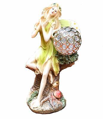 solar powered fairy angel with solar glowing