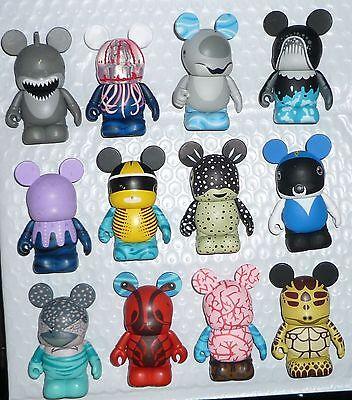 Disney Sea Creatures Series Vinylmation ( Set of 12 ) Complete Set