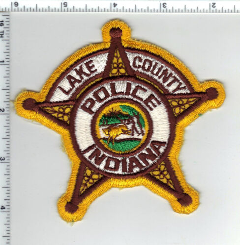 Lake County Police (Indiana) Shoulder Patch - new from the 1980s