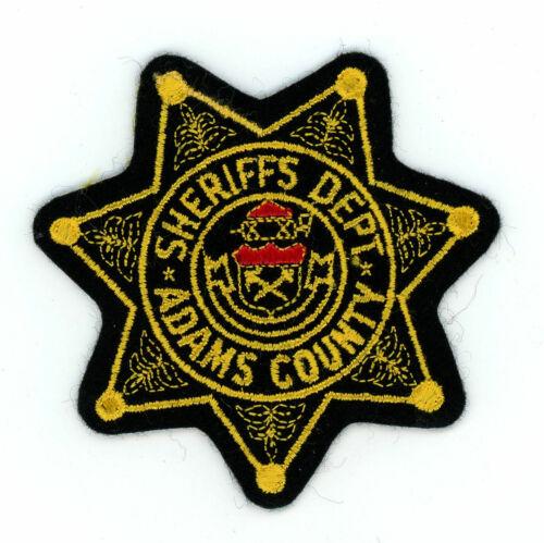 Adams County Sheriff