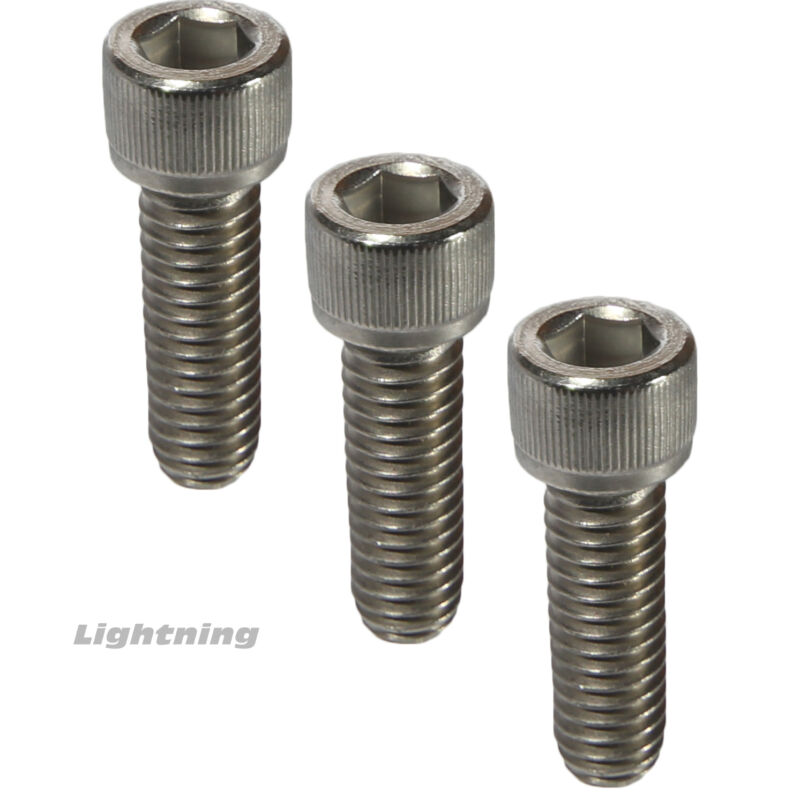 1/4-20 Socket Head Cap Screws Fully Threaded 18-8 Stainless Steel Allen Qty 25