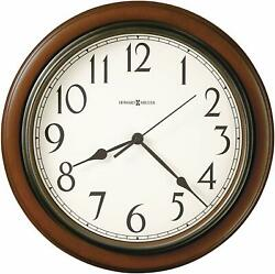 Howard Miller Kalvin Wall Clock 625-418 – Modern & Round with Quartz Movement