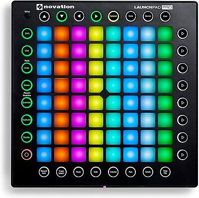 Novation Launchpad Pro Ableton Live USB MIDI RGB 64-Pad DJ Controller