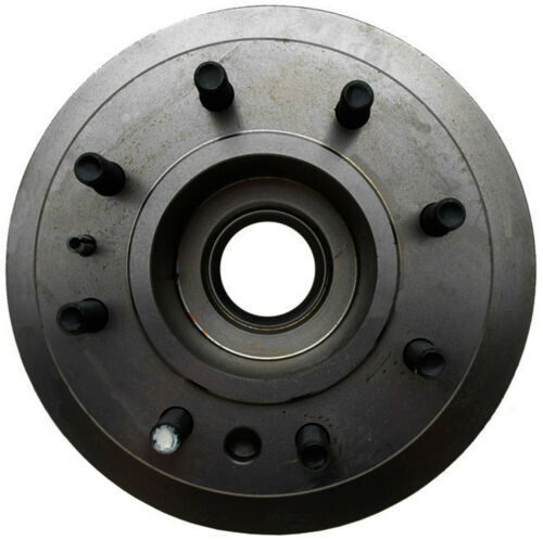 ACDelco 18A724A Advantage Non-Coated Front Disc Brake Rotor and Hub Assembly