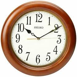 Seiko QXA522BLH Classic Wooden Wall Clock 11.5