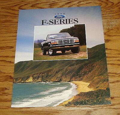 1996 Ford F250 Truck (Original 1996 Ford Truck F-Series Sales Brochure 96 F-150 F-250 F-350 )