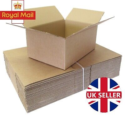 50 x ROYAL MAIL 'DEEP' MAXIMUM SIZE SMALL PARCEL CARDBOARD BOXES