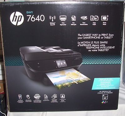 NEW HP Envy 7640 Wireless All-in-One Photo Printer with Mobile...