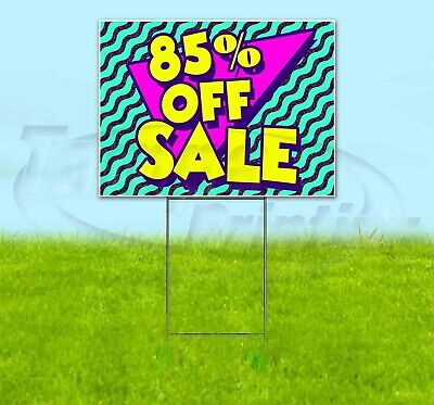 85 Off Sale 18x24 Yard Sign Corrugated Plastic Bandit Lawn Business Usa