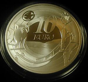 IRELAND-IRISH-10-EURO-SILVER-PROOF-COIN-2009-PLOUGHMAN-UNCIRCULATED