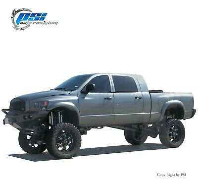Rugged Fender Flares Paintable Fits Dodge Ram 1500 02-08, Ram 2500/3500 03-09