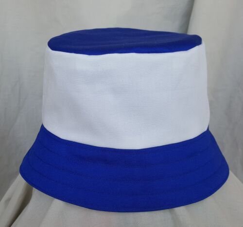 New Leicester City style bucket hat. 1990's football casuals. Size M. Retro.