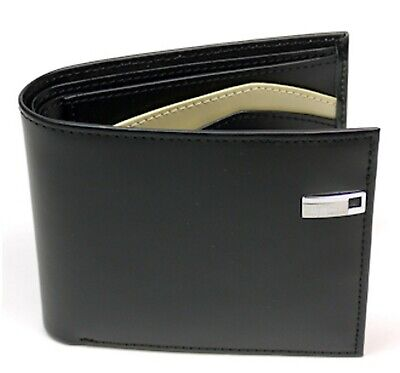 Aaron Leather Wallet(Black)