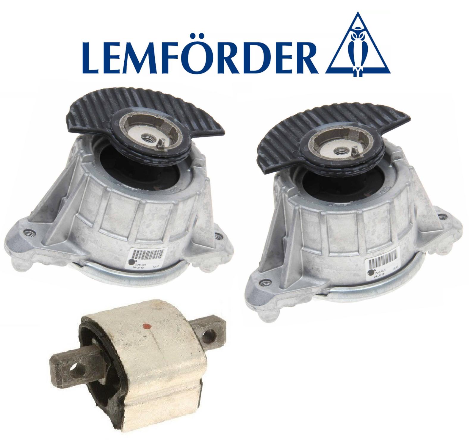 OEM Engine Motor Mount Set 2pcs Transmission Mount Lemforder Mercedes GLK350