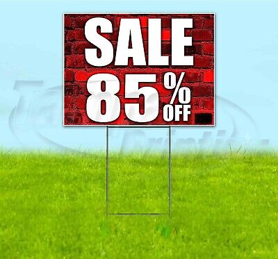Sale 85 Off 18x24 Yard Sign With Stake Corrugated Bandit Usa Business Deals