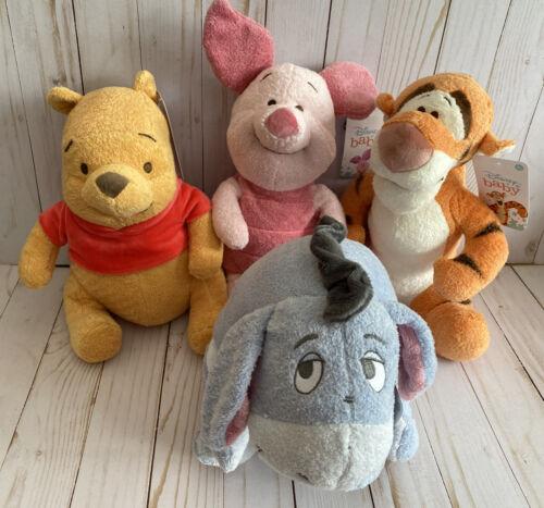 Classic Pooh Piglet Tigger Eeyore Set Of 4 Disney Baby New Gift Idea - $50.00