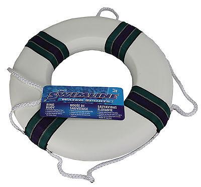 "Swimline 89870 18"" Lifeguard Life Preserver Swimming Pool Float Safety Ring Buoy"