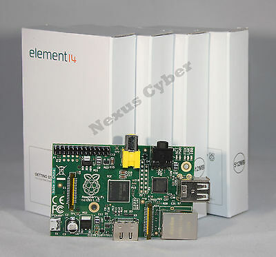New Raspberry Pi 2.0 Model B 512MB Version Element 14 Linux System Board  on Rummage