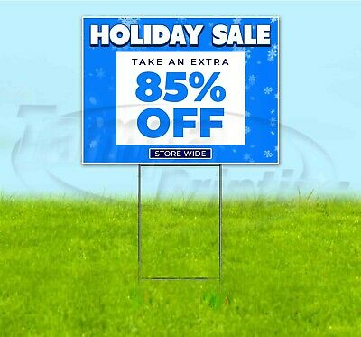 Holiday Sale 85 Off 18x24 Yard Sign With Stake Corrugated Bandit Business Deals