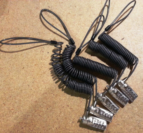 Anti-Theft Cable Combination Lock