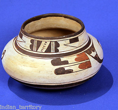 Historic Era Hopi Indian Polychrome Pot c.1900-1920 Unsigned Attributed Nampeyo
