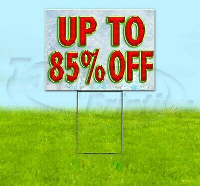 Up To 85 Off 18x24 Yard Sign Corrugated Plastic Bandit Lawn Business Christmas