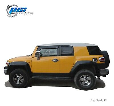 Extension Style Fender Flares Paintable Finish Fits Toyota FJ Cruiser 07-14