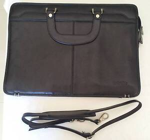 LEATHER BUSINESS BAG Hornsby Hornsby Area Preview