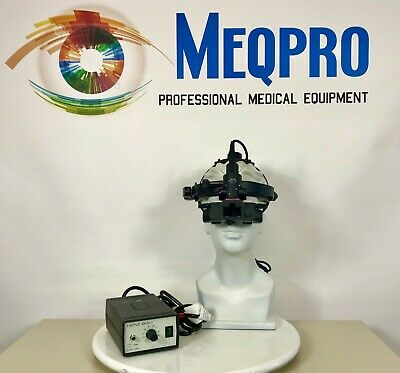 Heine Omega 180 Binocular Indirect Ophthalmoscope And Charger