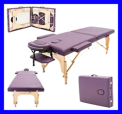 Massage Imperial® Lila Violett Charbury Tragbare Massageliege Therapie BettReiki ()