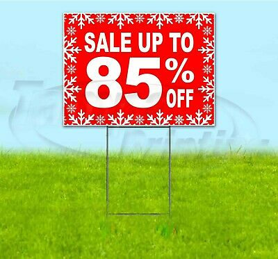 Sale Up To 85 18x24 Yard Sign With Stake Corrugated Bandit Business Holidays