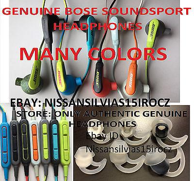 Bose In Ear SoundTrue SoundSport Headphones Ear Buds Earbuds IOS GALAXY