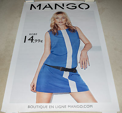 Kate Moss - Mango - Poster / Affiche / bus shelter (175x118,5cm)