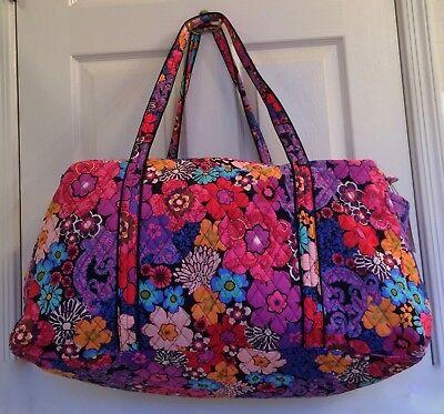 """VERA BRADLEY ~  """"Fiesta Floral"""" ~ Large Duffle /Gym Bag ~ NWT"""