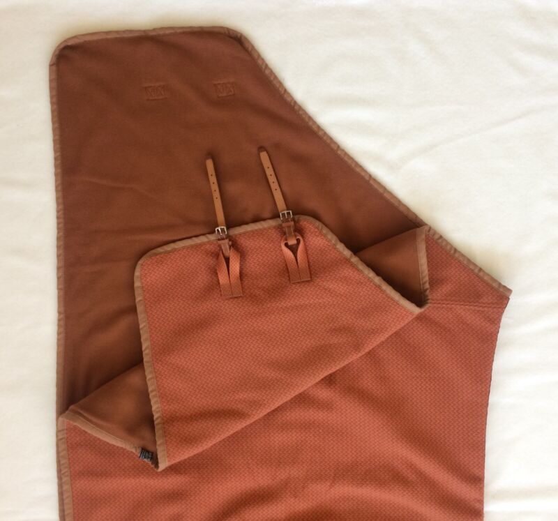 Hermes Equestrian Stable cooling blanket, New, Rare, 82 inches long.