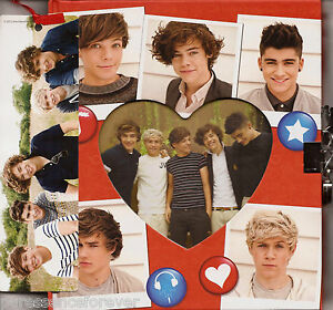 AVON OFFICIAL ONE DIRECTION SECRET DIARY WITH PADLOCK & BOOKMARK (New/Sld)