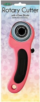 Sullivans 45mm Rotary Cutter Pink - 37240