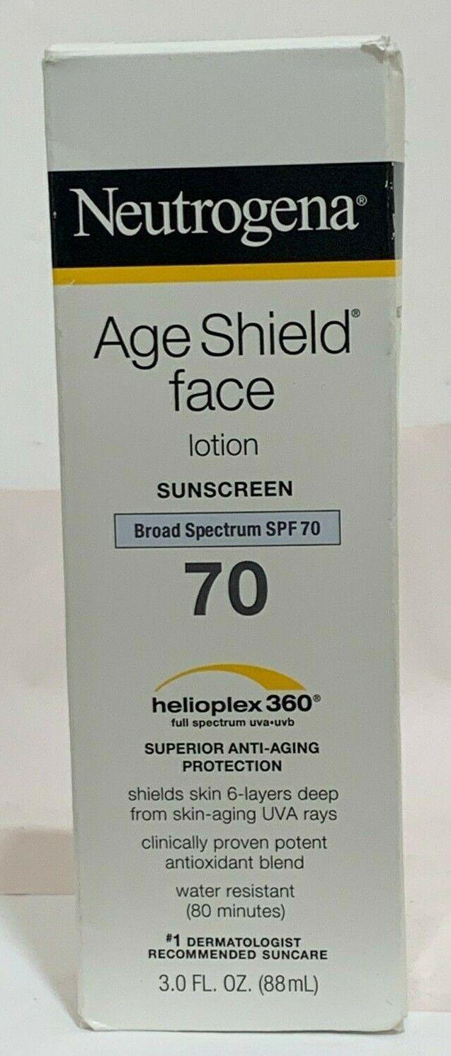 Neutrogena Age Shield Face Spf#70 Lotion 3oz