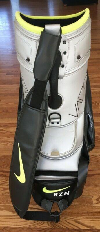 The Nike Vapor Staff Bag - Black - Silver - Volt
