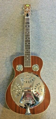 Regal RD-40T Round Neck Resonator Guitar with case. New. Free shipping