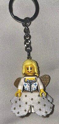 Lego Minifiguren Fee / Fairy goldener Engel Elfe Schlüsselanhänger aus Legoland
