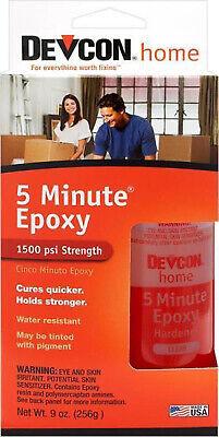 Devcon 20945 S209 2 Part 5 Minute Epoxy Glue Waterproof Adhesivegl20945